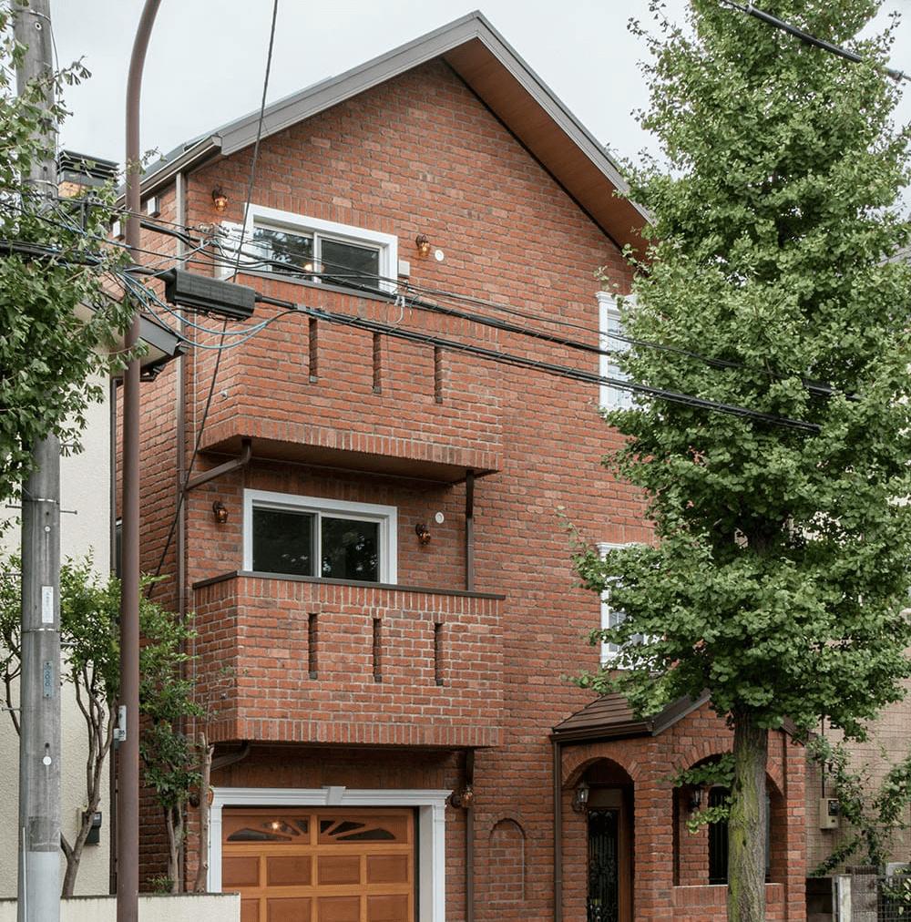 レンガ積みの家 実例