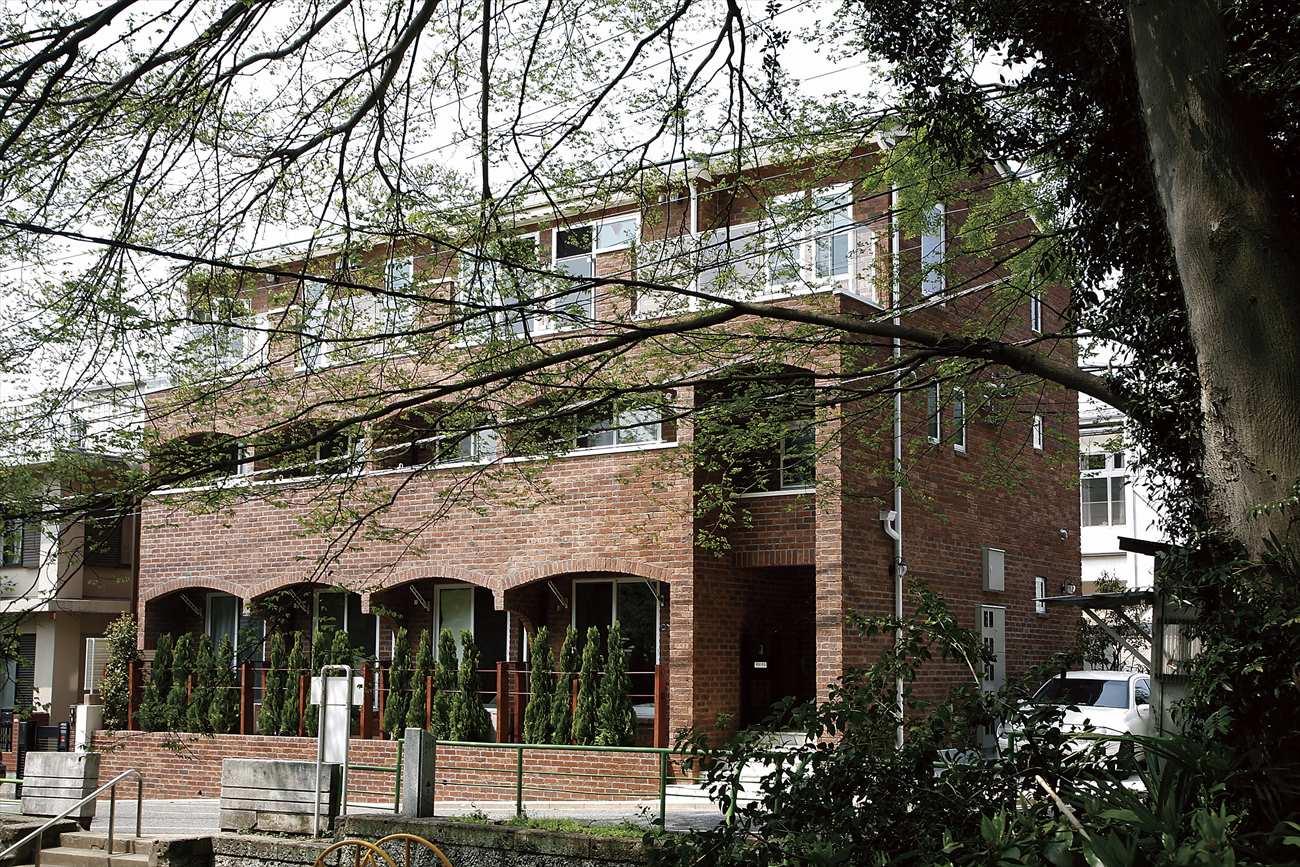 ヨーロッパの街で見かけるような賃貸併用住宅(文京区I様邸)