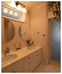 2人用の洗面室