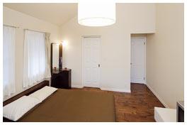 開放感のある主寝室
