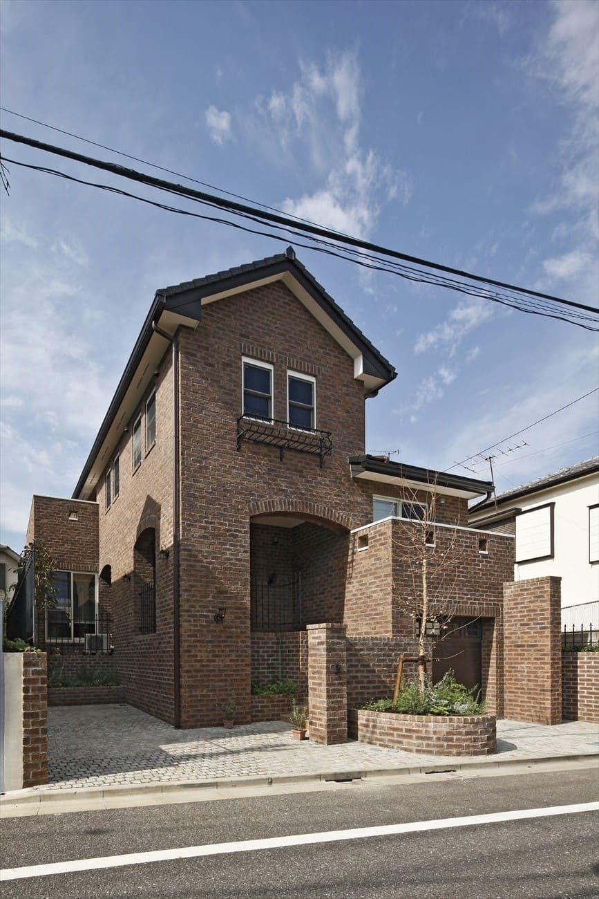 レンガの家の事例