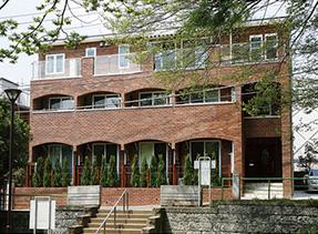 レンガ建築の写真