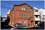 レンガ積み3階建ての完全分離型二世帯住宅(東京都杉並区K様邸)